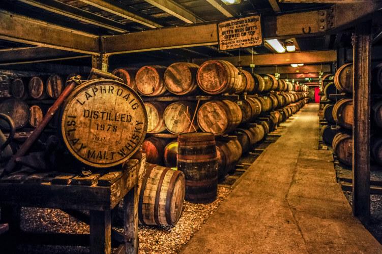Laphroaig Distillery on the Isle of Skye