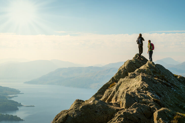 walk and climb your way to the summit of a Scottish munro