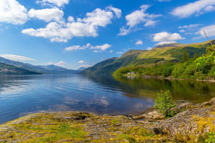 Loch Lomond, west Scotland