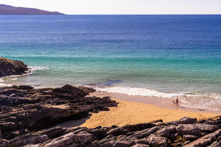 The isle of Harris is a great dog-friendly destination
