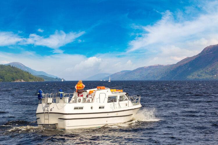 Take a boat cruise along Loch Ness
