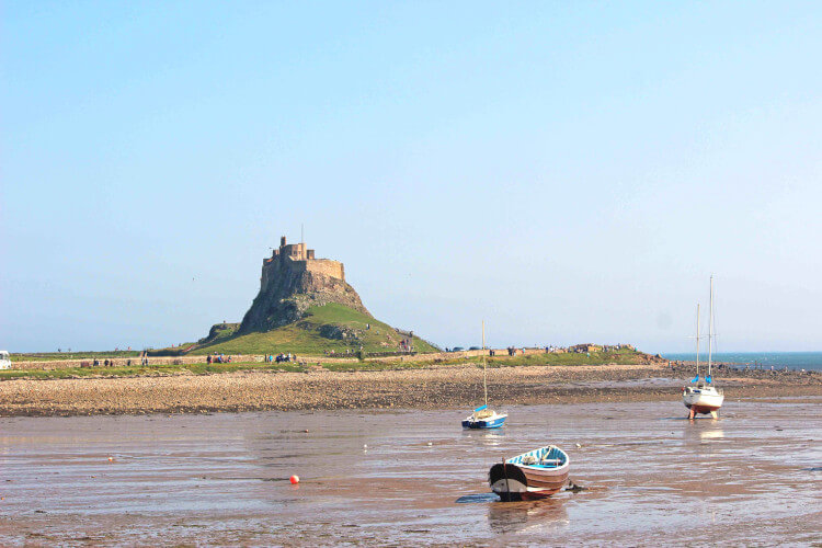 Lindisfarne Castle of the Holy Island
