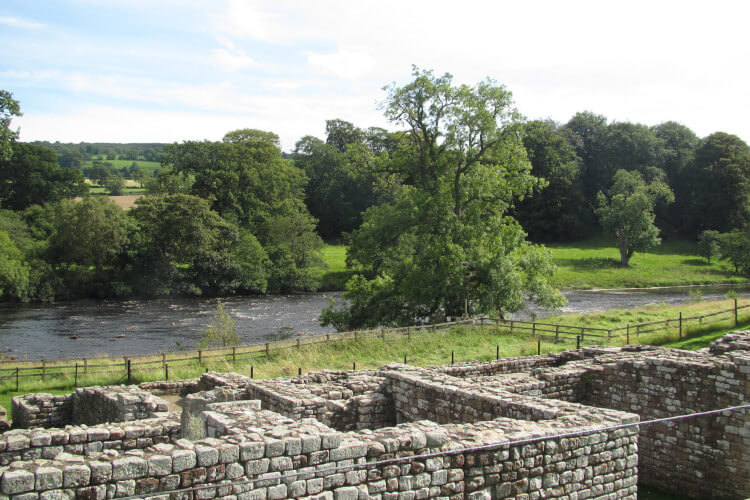 Discover ancient Roman forts on Hadrain's Wall