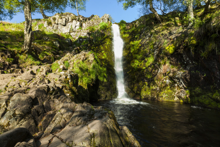 Linhope Spout in Northumberland