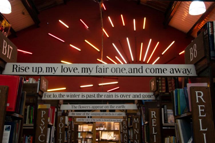 Explore Barter Books, Alnwicks very own antique book store