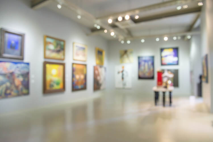 Visit an art gallery when on holiday in Northumberland