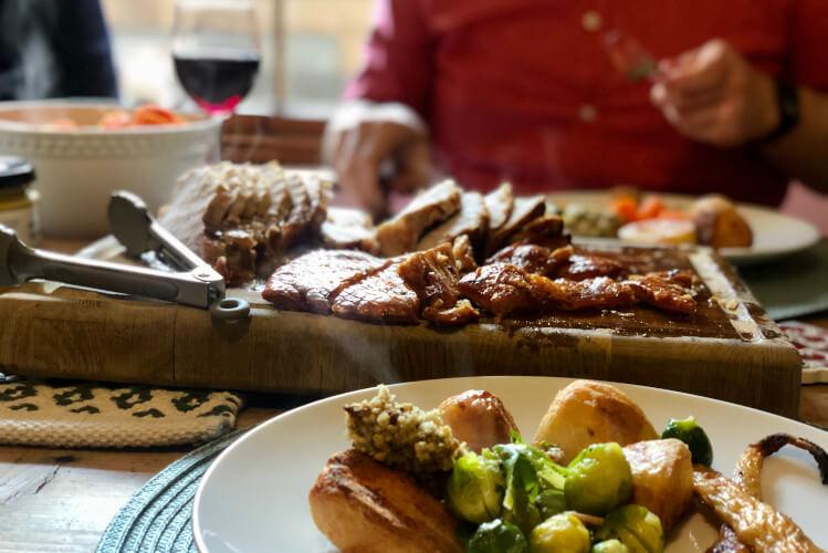 Enjoy Sunday lunch in a Rothbury restaurant