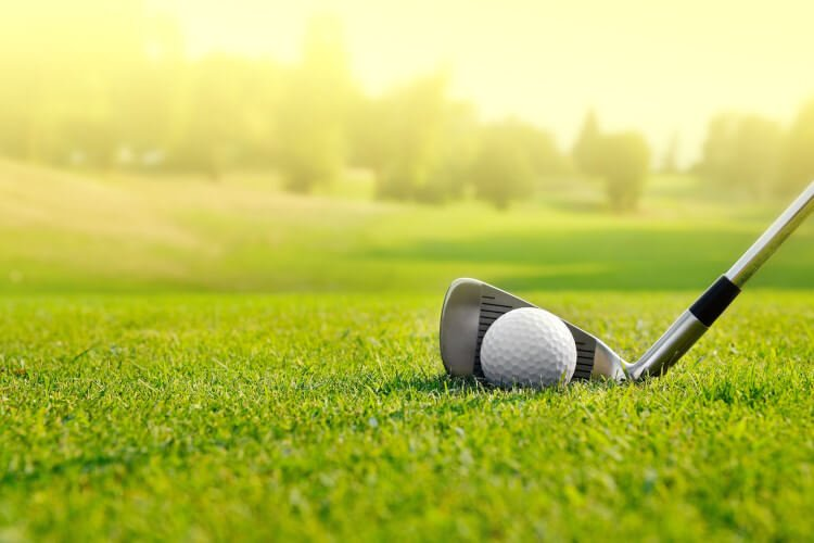 Enjoy a game of golf on the Wooler golf course in Northumberland