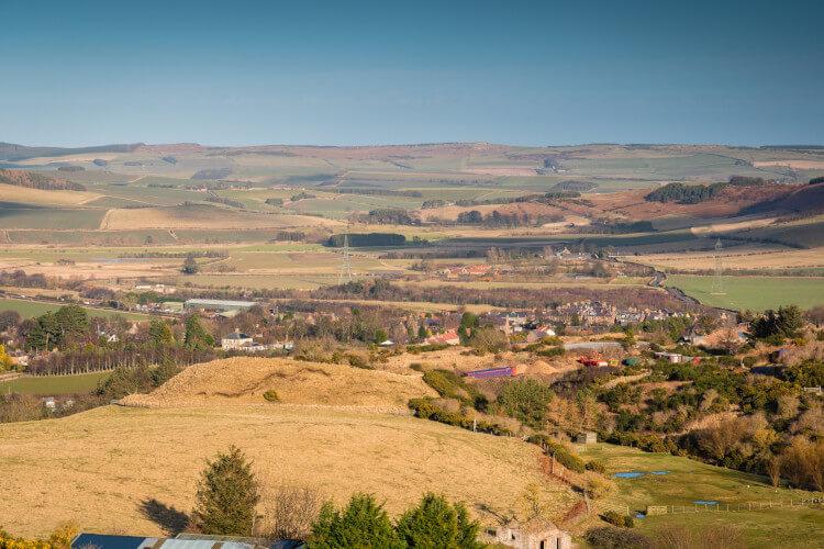 Wooler in Northumberland