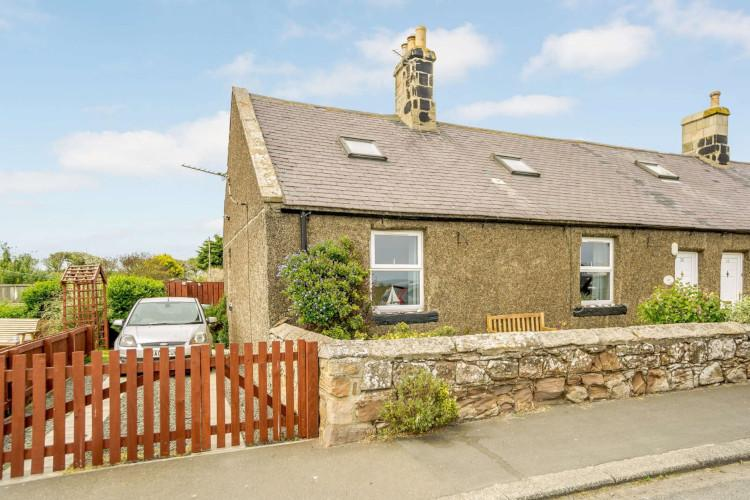 Crab Pot Cottage in Boulmer, Northumberland