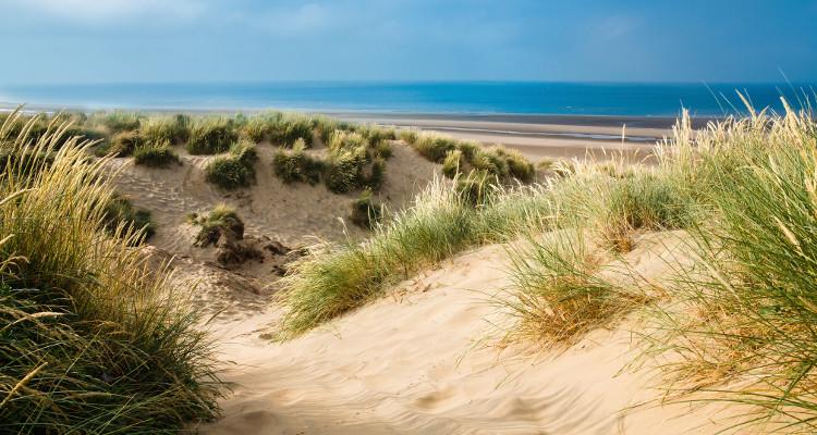 Camber Sands sand dunes