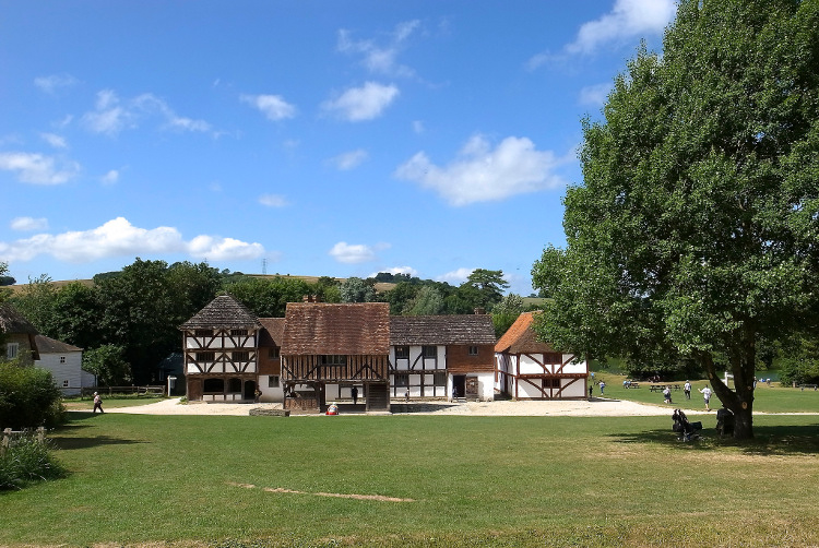 Weald and Downland Museum of rural life near Chichester in West Sussex
