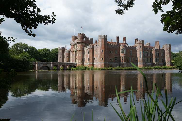 Herstmonceux Castle in Hailsham, Sussex