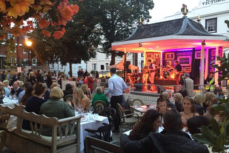 Jazz on the Pantiles Tunbridge Wells Kent