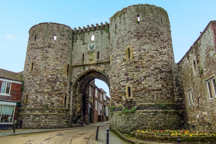 Rye medieval archway