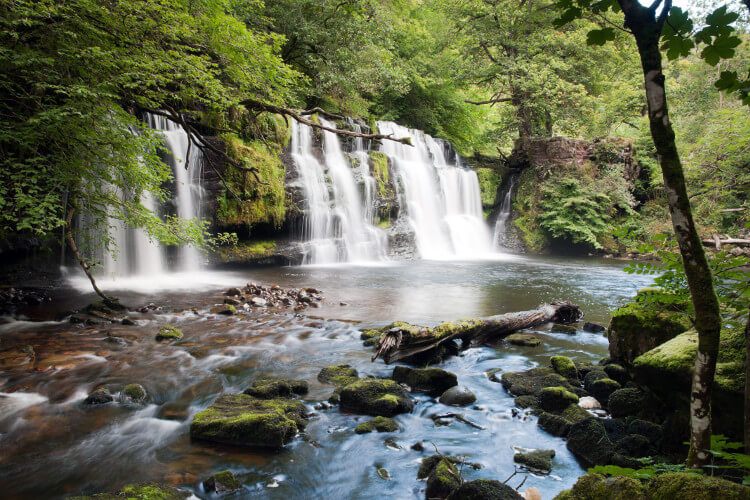 Waterfall walks in the Brecon Beacons