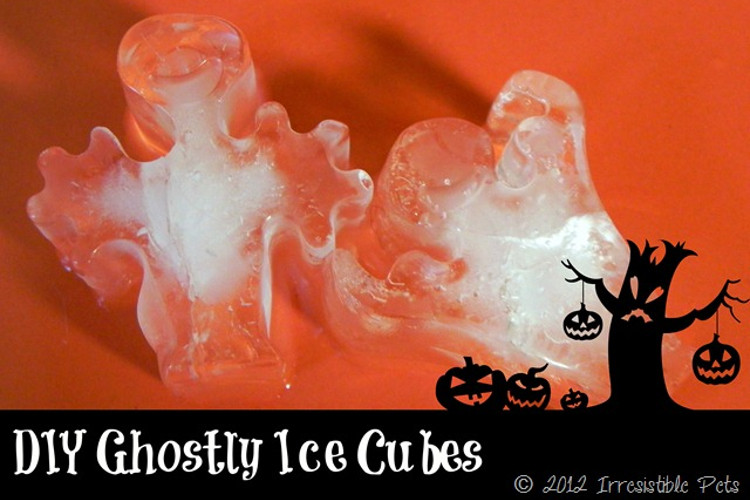 Ghostie Ice Cubes
