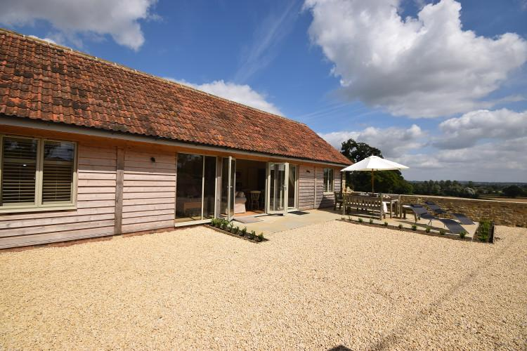 The Cowshed at Caswell dog-friendly cottage in West Bay, Dorset