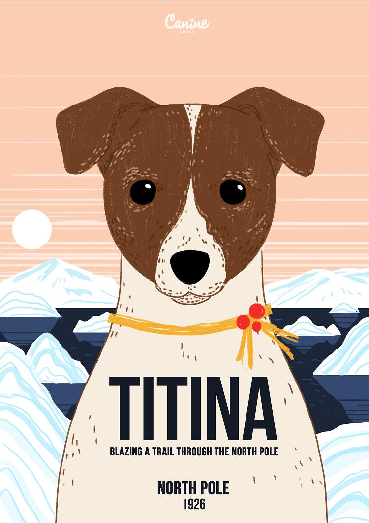 Titina - Canine Pioneers