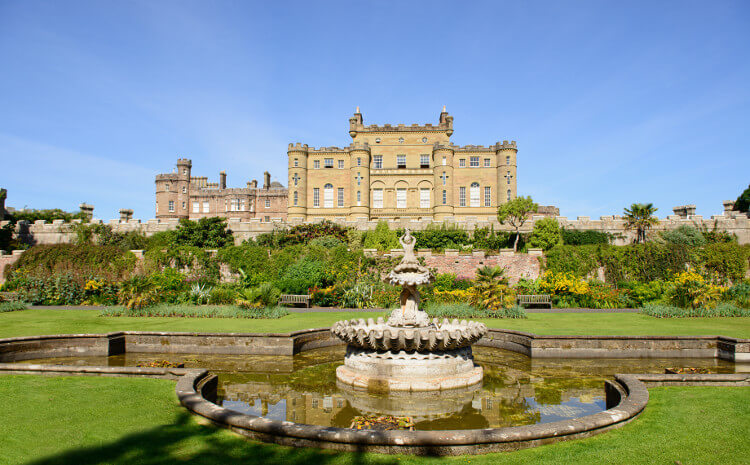 Culzean Castle and Country Park at Maybole in Scotland