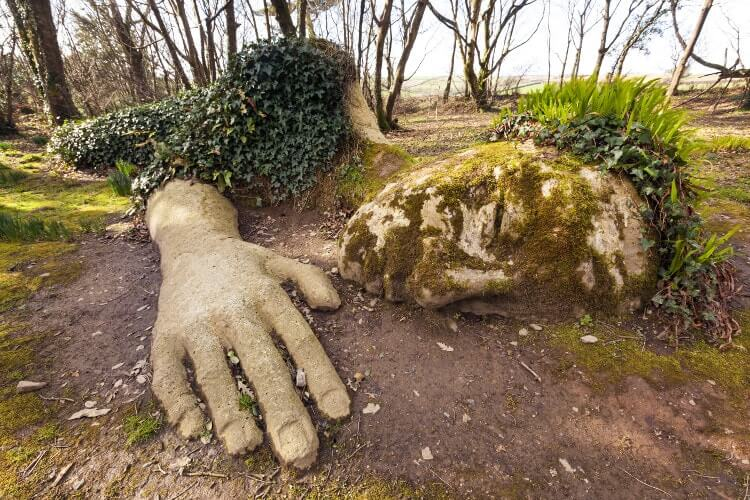 The Lost Gardens of Heligan in Cornwall