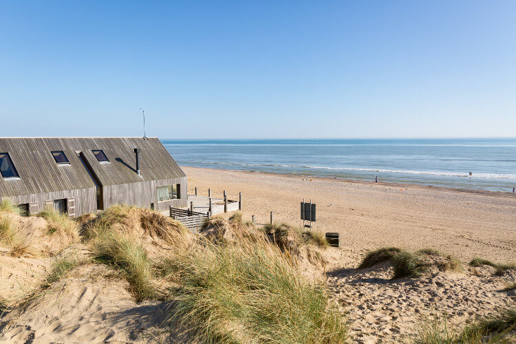 Camber Sands dog friendly beach in East Sussex