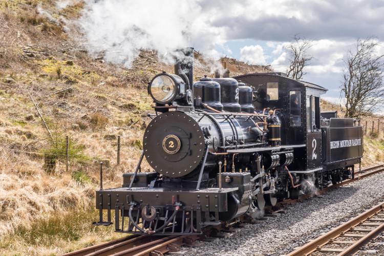 Brecon Mountain Railway in Merthyr Tydfil, Wales