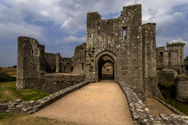 Harlech Castle in Gwynedd, Wales