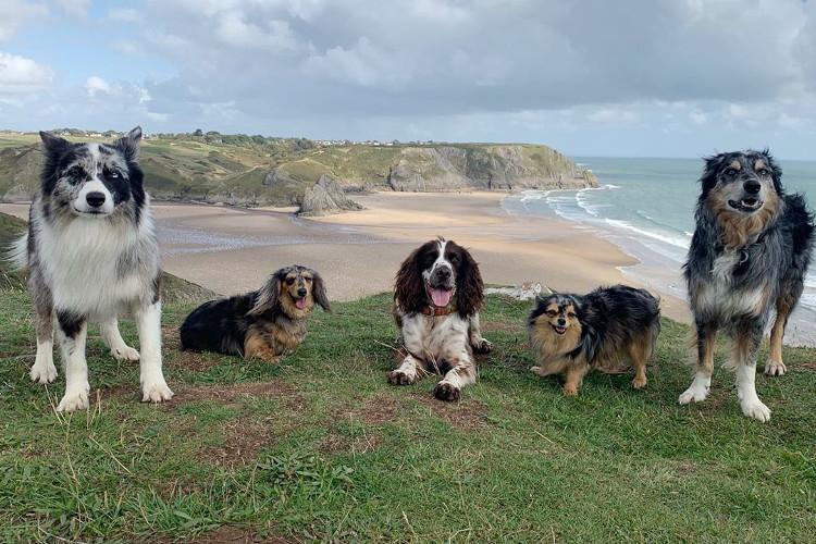 Three Cliffs Bay, South Wales