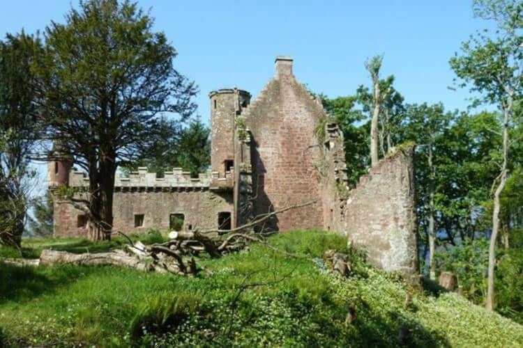 Knock Old Castle Scotland ruin