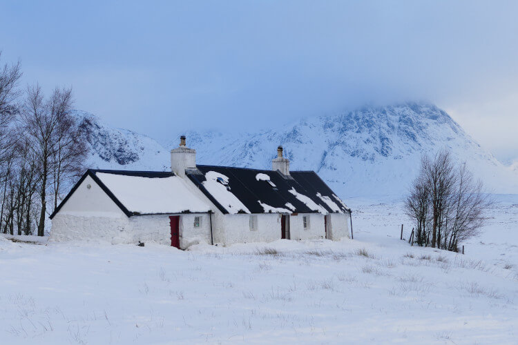 Coldest place in Scotland