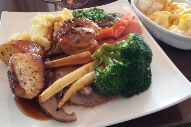 Sunday Roast at The Dog at Ludham