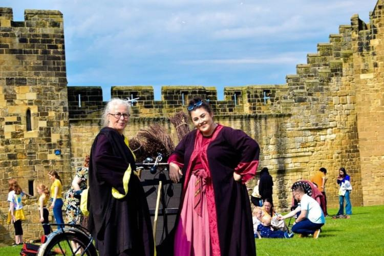 Alnwick Broomstick Training - Harry Potter