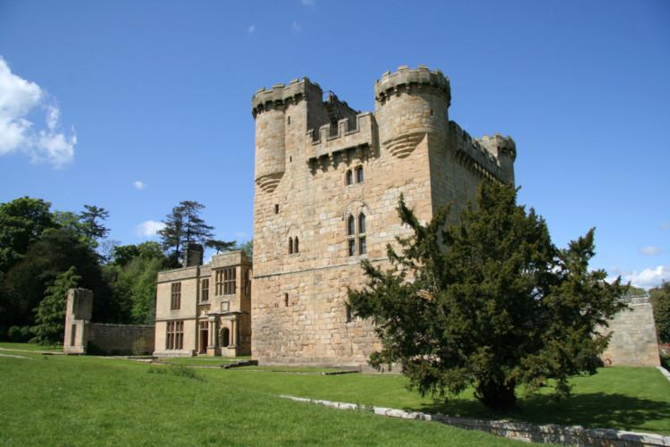 Belsay Castle in Northumberland