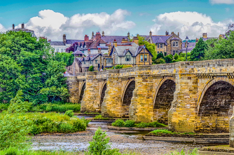 Pretty Northumberland village - Corbridge