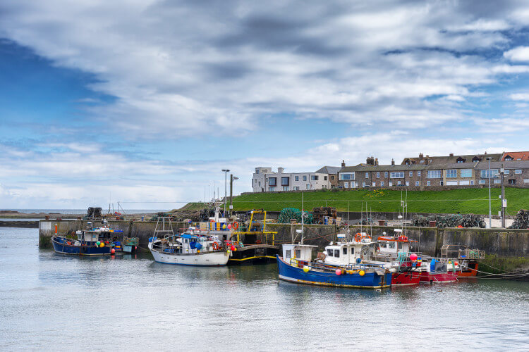 Seahouses - pretty Northumberland village