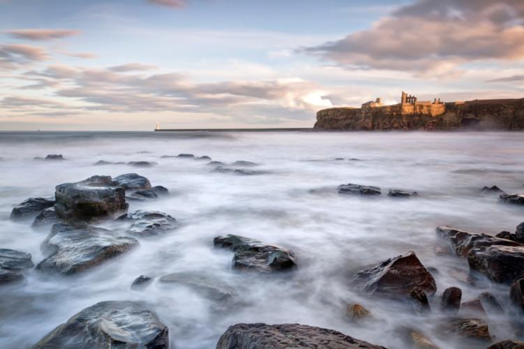 Tynemouth Castle and Priory - Northumberland Castles