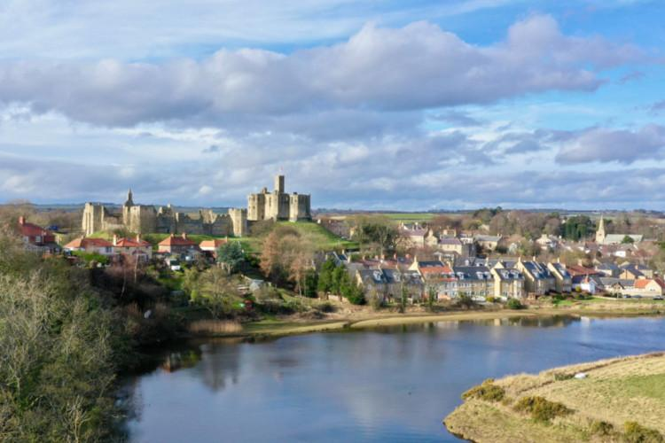 Warkworth - pretty Northumberland village