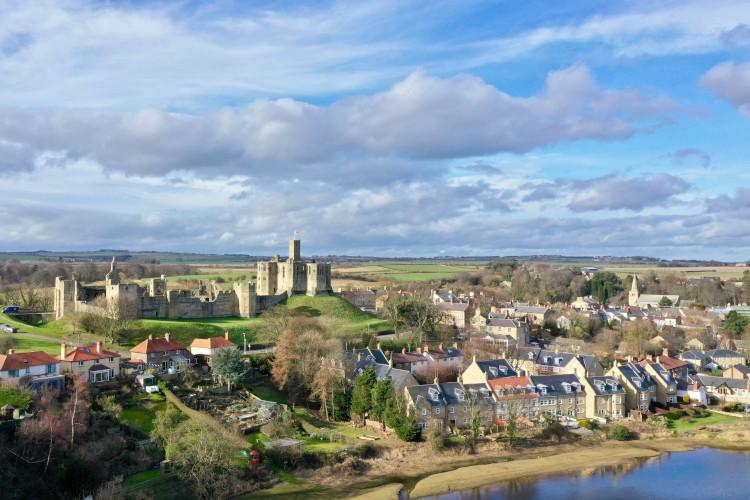Warkworth in Northumberland