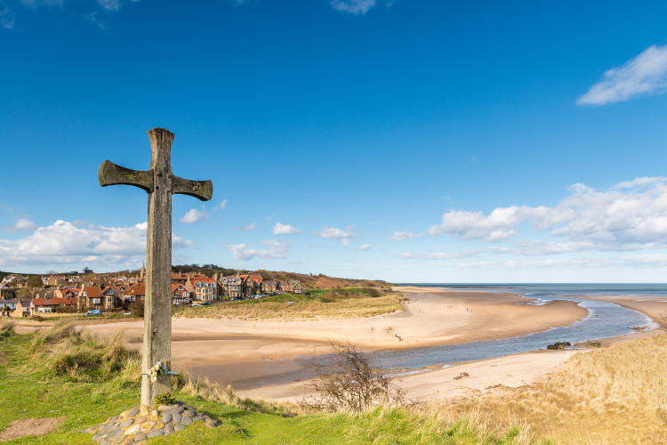 Alnmouth - pretty Northumberland village