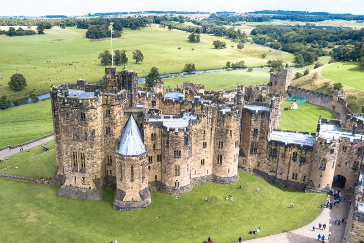 Alnwick Castle is Hogwarts in Harry Potter