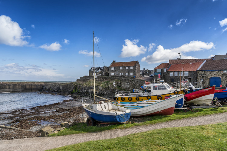 Craster in Northumberland