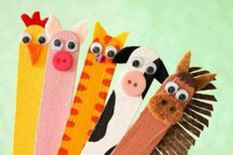 Popsicle Farm Sticks