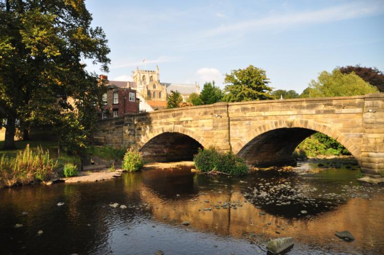 Ripon in North Yorkshire