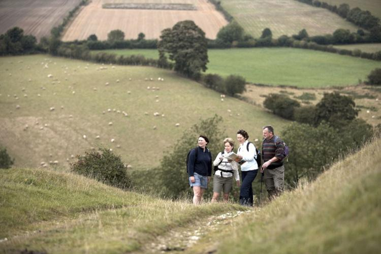 Walk along the Yorkshire Wolds Way