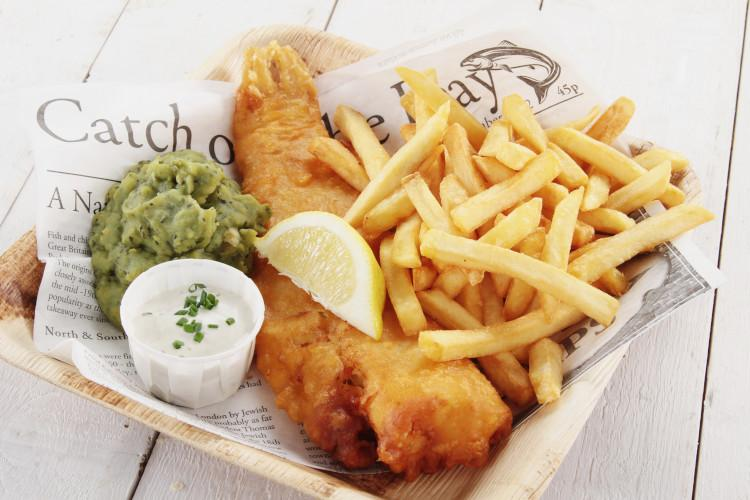 Enjoy fish and chips at the Yorkshire Coast