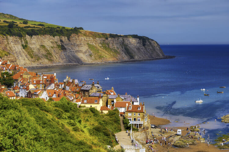 Robin Hood's Bay view