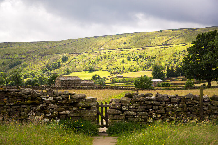 Swaledale countryside