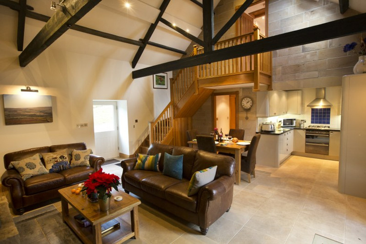 Partridge Cottage comes with gorgeous heated floors