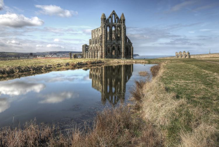 Dracula was inspired by Whitby Abbey